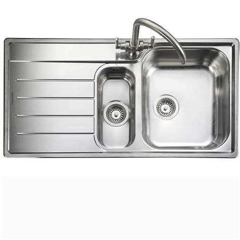 kitchen sink co rangemaster oakland ol9852 stainless steel sink kitchen