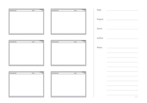 Free Printable Sketching Wireframing And Note Taking Pdf Templates Smashing Magazine Sketch Wireframe Template