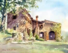 michal orlowski水彩風景畫作品 设计之家