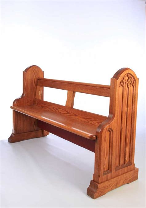 bench in a church church benches pews ics church furnishers