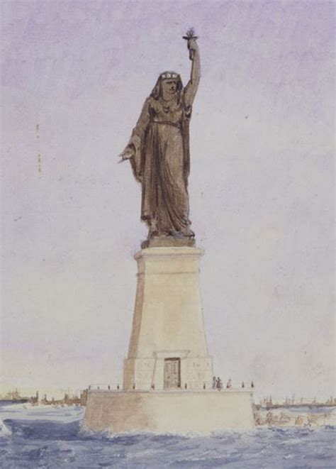 lade liberty original model for new york s statue of liberty was an