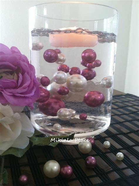 Vase Fillers For Wedding Centerpieces by Ivory Orchid Jumbo Floating Pearls For Vase Fillers Wedding