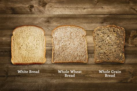 whole grains vs white wheat bread vs whole grain