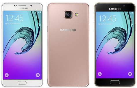 Samsung A3 Warna Pink Samsung Updates Their Galaxy A3 A5 And A7 With New