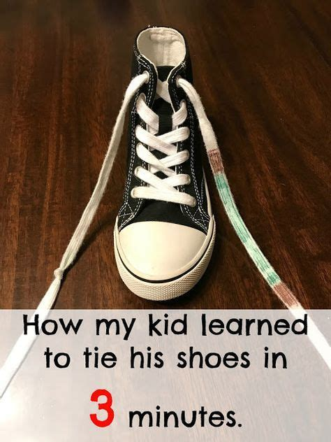 17 best ideas about tying shoe laces on tieing