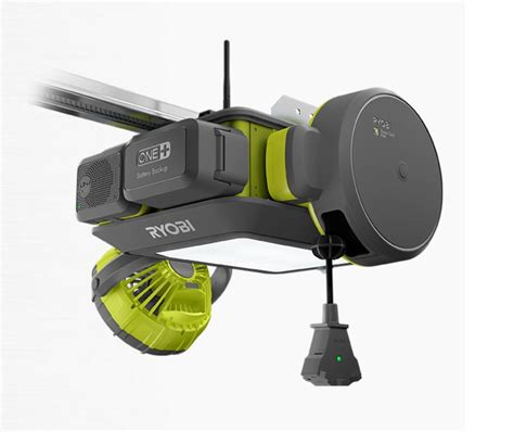 Built In Garage Door Opener New Ryobi Garage Door Opener With Modular Components Tool Craze