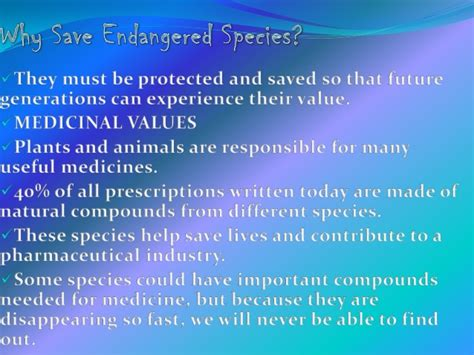 Our Future Generation Essay by Endangered Species