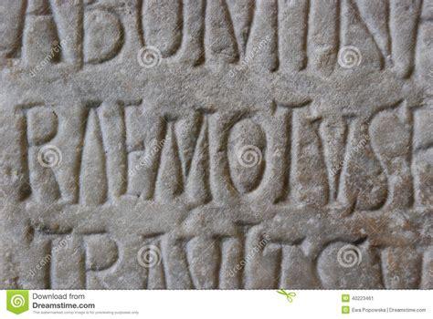 lettere romane lettere romane antiche fotografia stock immagine 40223461