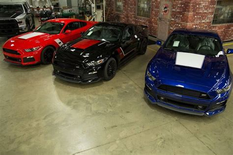 Roush Mustang 2016 by 2016 Roush Warrior Ford Mustang Gets New Look Gtspirit