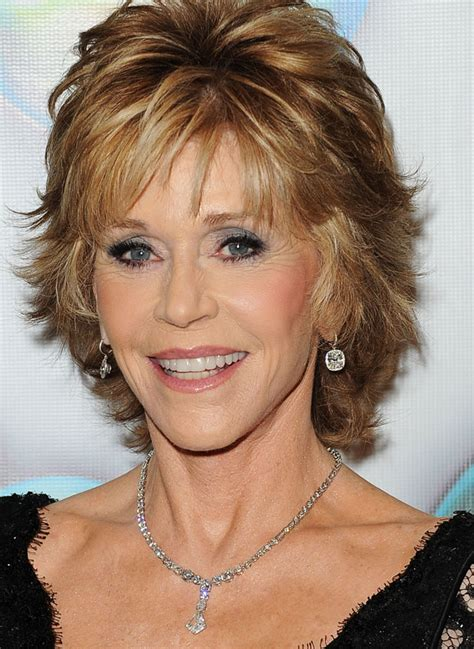 short flippy layered hair jane fonda shag hairstyles jane fonda flippy shag 360