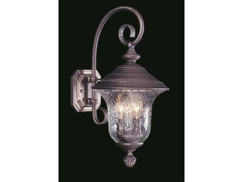 Lu Taman Garden Light Vinder 3 Watt framburg carcassonne three light outdoor wall light rm8320