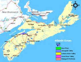 maps scotia canada scotia wine regions and wineries