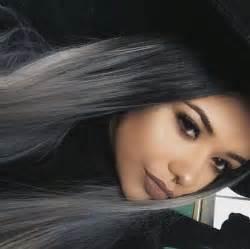 black grey hair such a beauty image 4079008 by marine21 on favim com