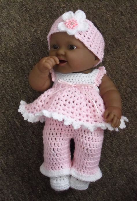 pattern doll clothes 10 inch pdf crochet pattern for 14 inch berenguer lots to love baby