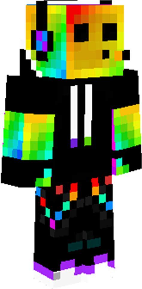 rainbow lava l multicolor hoodie skin