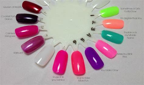 gelish color swatches gelish archives page 3 of 7 daydreaming