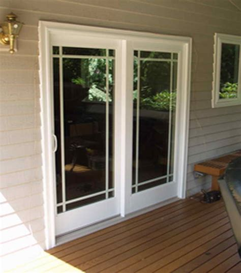 Installing Sliding Patio Door Doors Windows Sliding Patio Doors Design
