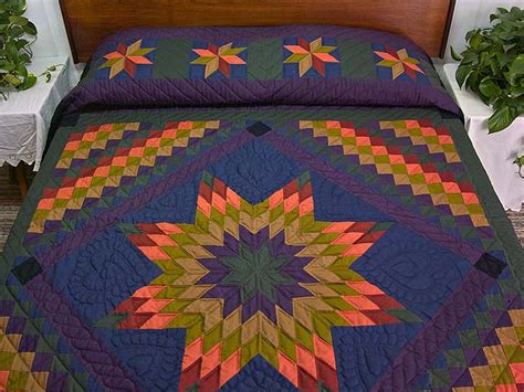 Amish Lone Quilt by Lone Trip Quilt Wonderful Meticulously Made Amish