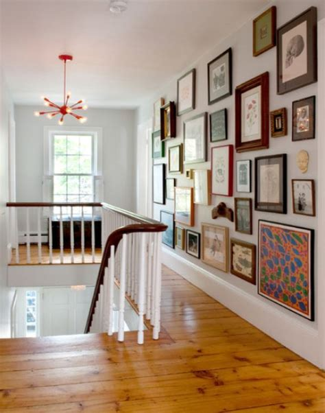 how to hang wall art 20 stairway gallery wall ideas home design and interior