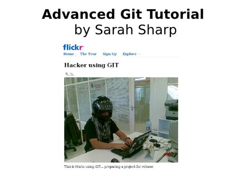 git tutorial practical advanced git tutorial
