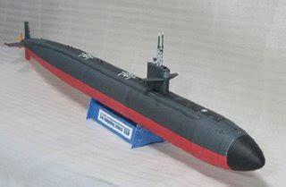Submarine Papercraft - papercraft heaven los angeles class submarine papercraft