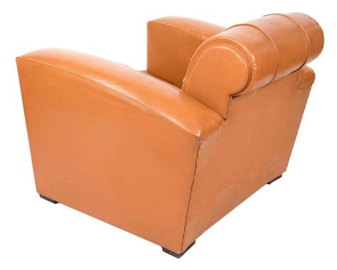 art deco leather armchair art deco leather armchairs for sale at 1stdibs