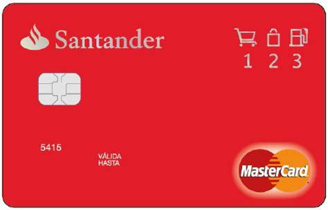 tarjetas banco santander tarjeta 1 2 3 del b santander devuelve el 1 2 243 3 de