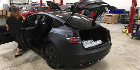 tesla model 3 quality problems tesla model 3 s back seats will fold flat with 5 6 of