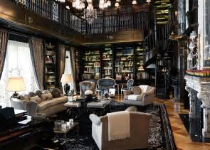 luxury home libraries high definition wallpaper with