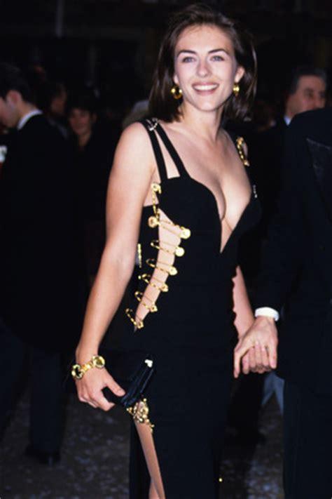 Buy Elizabeth Hurleys Safety Pin Versace Dress by Gaga Wears Liz Hurley Versace Dress In Milan