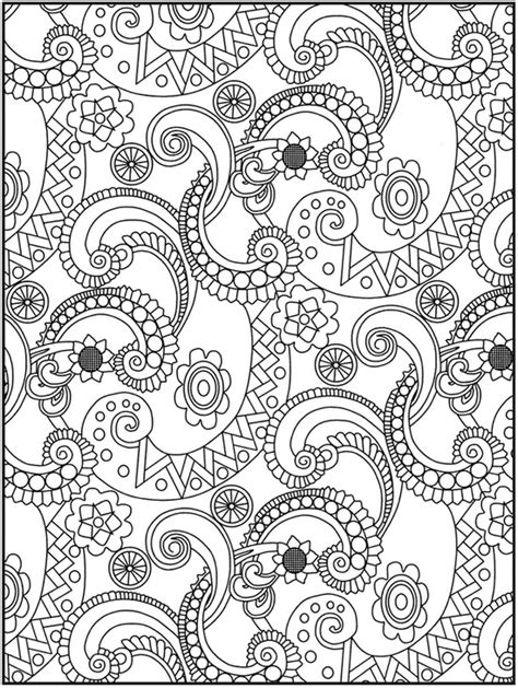 detailed coloring pages for adults flowers coloring pages flowers detailed colouring pages page 3