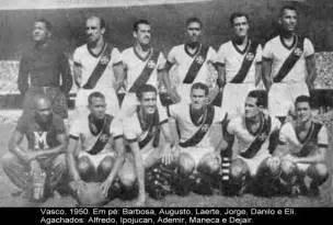 礙 vasco c r vasco da gama ceonato carioca 1950