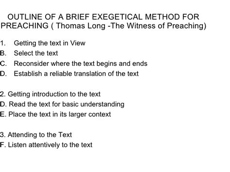 Homiletic Sermon Outline by Homiletics Notes