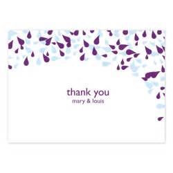 modern petal thank you card crafty pie press