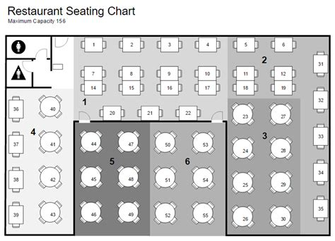 free restaurant seating chart template restaurant floor plan maker free app