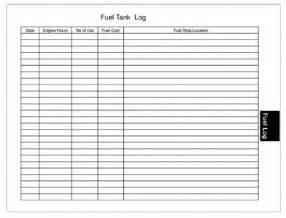 captains log fuel data