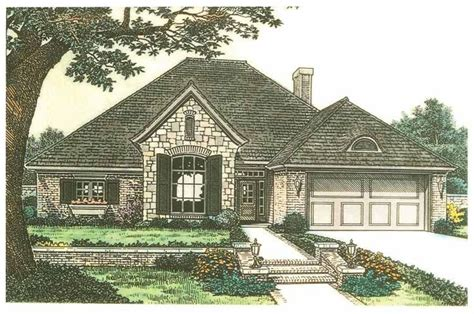 eplans french country house plan captivating country eplans french country house plan tandem garage 2045