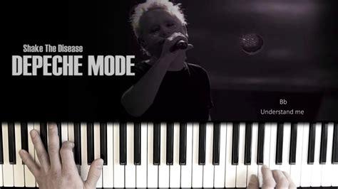 tutorial piano depeche mode depeche mode shake the disease piano tutorial depeche