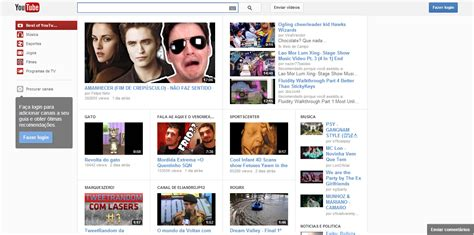 layout do youtube 2013 como acessar o novo layout do youtube 2013