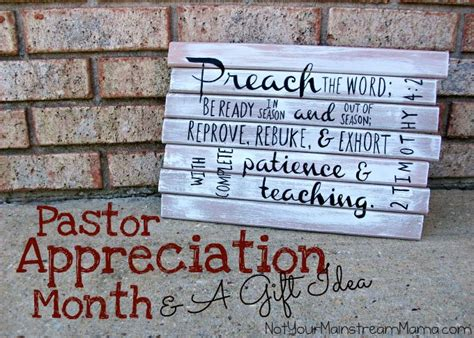 25 best ideas about pastor appreciation gifts on