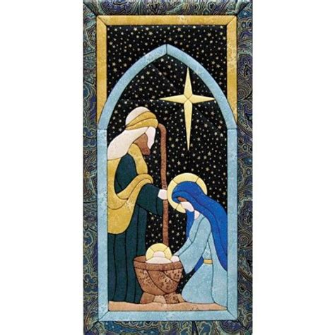 Quilt Pattern Nativity Scene | nativity scene quilt magic kit 24 99 contains fabric