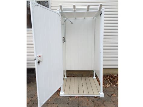 Single Stall Shower by Outdoor Shower Ideas Single Shower Stalls