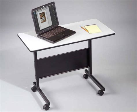 Charming Corner Computer Desk Ideas #6: Rolling-portable-computer-desk-good-all-inside-for-laptop-plans-17.jpg
