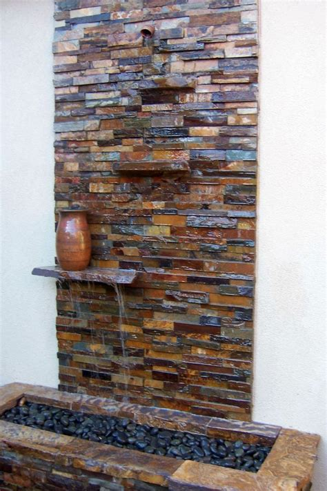 Modern Wall Water Features by Best 25 Indoor Water Fountains Ideas On