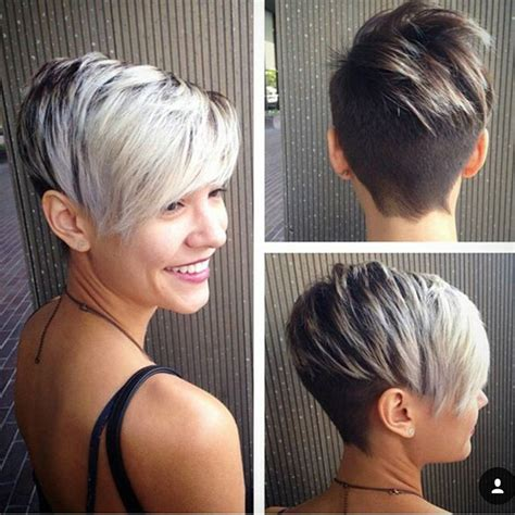 two color pixie cut two tone pixie haircut for short hair hair jo