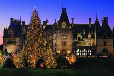 To go back and see it at christmas biltmore house asheville nc