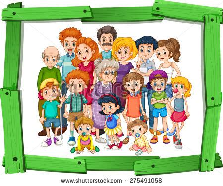 family pic frames frame clipart family picture pencil and in color frame