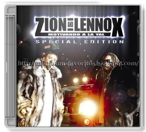 zion lennox motivando a la yal special edition mis albums favoritos