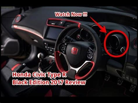 watch now !!! honda civic type r black edition 2017 review