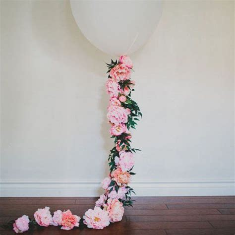 Bridal Flower Decoration by 21 Sweet Balloon Decorations For A Bridal Shower Shelterness